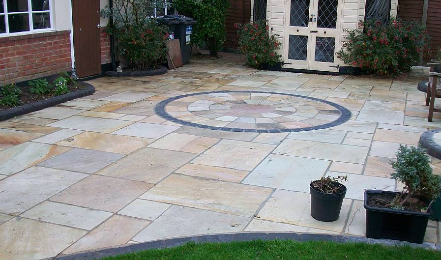 Photos first choice driveways see examples of our work for Outdoor pavers christchurch